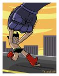 Astro Boy saving the day by captainsponge