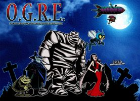 O.G.R.E. from Drak Pack! by CreedStonegate