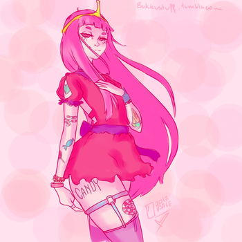 CandyQueen Princess B. by ThatWeirdPigeonLady
