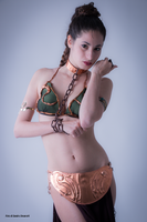 Slave Leia 24 by Darthsandr