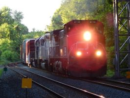 Canadian National C44-9W #2725 by Tracksidegorilla1