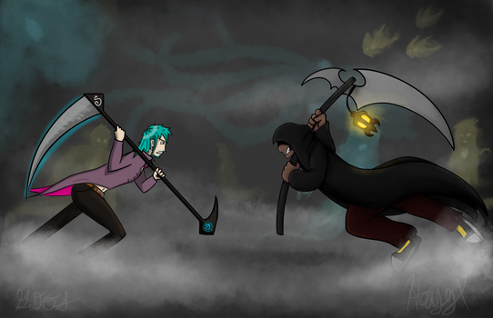 The Great Reaper Battle by hayy1