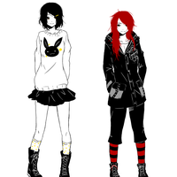 Black and Red by Sweet-Palette