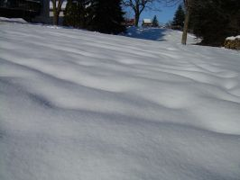 Rippling Snow by fairybeliever87