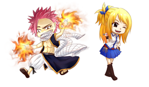 Fairy Tail chibi by hama-chama