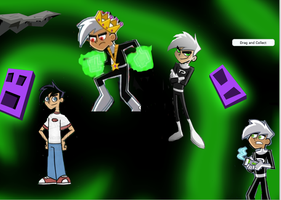 Danny Phantom everywhere!! by tuffpuppy101