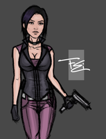 Fear Effect Reboot Hana by FearEffectInferno