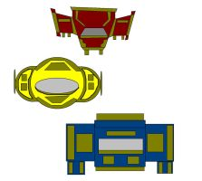 PR Solar Force Zords by jtest29