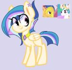 Mlp: Flash S. x P. Celestia for LPLily by BlackTempestBrony