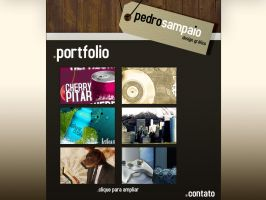 Portfolio Layout by pedrosampaio