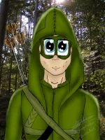 Oliver in the forest by MrsCromwell