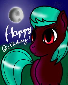 A late birthday artwork gift from SkySound by FireSparky