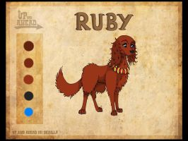 Up-And-Ahead Character: Ruby by PolarBearLivii
