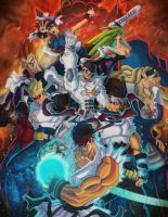 Capcom Fighting Tribute Ver.B by nfteixeira