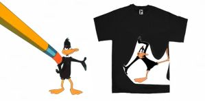 T for Tees: Duck Amuck by sdws