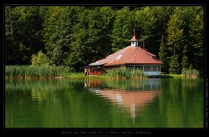 House on the lake II by Hemaka86