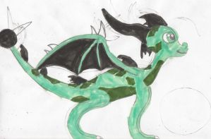 Tykor The Earth Dragon by nyro1