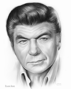 Claude Akins by gregchapin