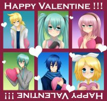 Vocaloid - Valentine's Day by LadyGalatee