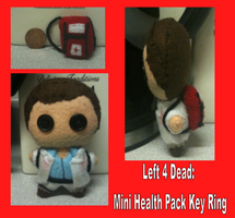 left 4 dead mini health pack key ring by Jack-O-AllTrades