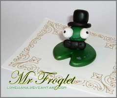 :Mr Froglet returns:: by LoneHana