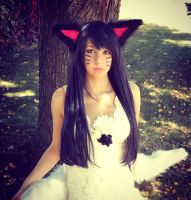 Ahri Bride cosplay by me by kawaiilullaby