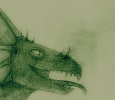 Green Dragon by Graupe