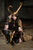 Tabitha as Lady Loki by N1k0nSh00ter