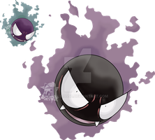 092 - Gastly by Tails19950