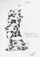 Tare Panda pile by PirateCaptainJess