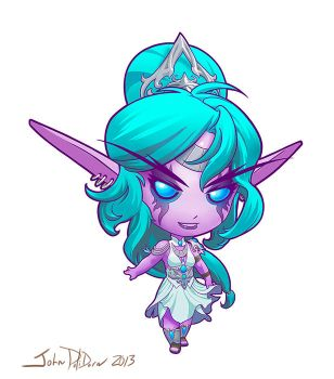 Cute but Deadly TYRANDE by NorseChowder