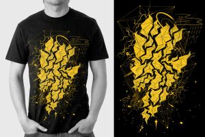 Thunder Strucked : Shirt by choppre