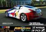 RB racing Nissan370z by LillithsBernard