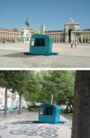 Nestle Ice Cream Kiosk by AnteMeridiemDesign