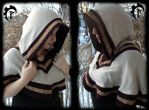 Viking/celtic shoulder cape by Feral-Workshop