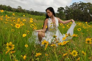 Stacey - field of flowers 2 by wildplaces