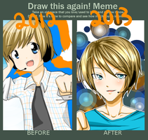 Improvement Meme 2012-2013 by LemonPoppySeedMuffin