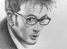David Tennant by JaneyArt