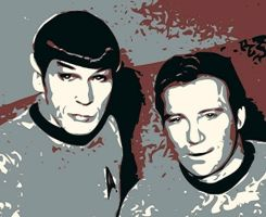 Spock and Kirk. Remember. by NeonGlo