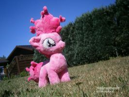 Filly Pinkie Pie Plushie by HipsterOwlet