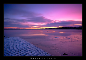 Magnetic North by Alphaon