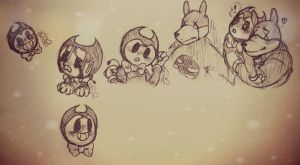 ~.:|Bendy And The Ink Machine|:.~ by Infinity-Max