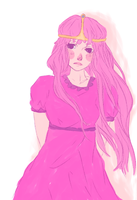 princess bubblegum by aimeeshii