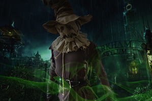The Scarecrow Escapes by GothamScarecrow