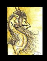 golden one ACEO by Suenta-DeathGod