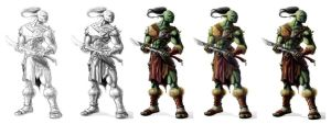 Ogre HUnter leader process by greatbubba
