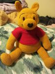 Crocheted Pooh by aphid777