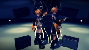 [MMD] Guitar Practice by Snorlaxin