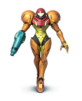 Samus in the new Super Smash Bros by ExistingBox9