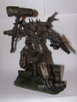 Chaos Obliterator Overlord (Iron Warriors) by Warhammer-Fanatic